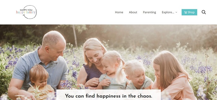 Happy You, Happy Family Blog