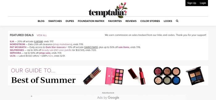 Temptalia Blog