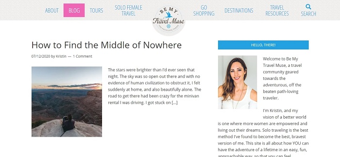 Travel Muse Blog