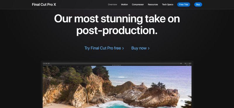 Final Cut Pro X - Main Page