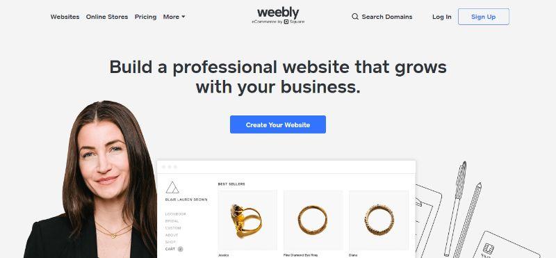 Weebly Website Building Software