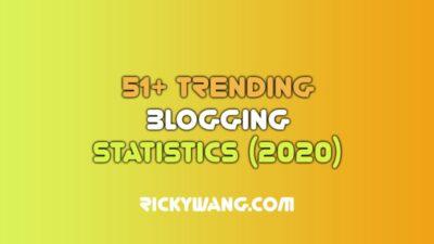 Trending Blogging Statistics Ricky Wang