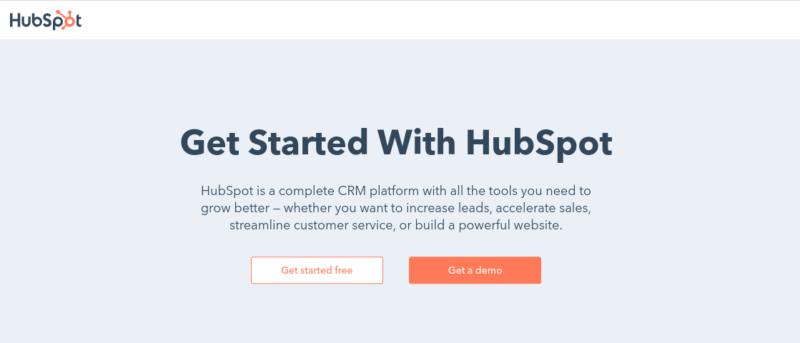HubSpot Best CRM Softwar