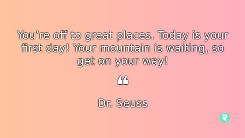 Inspirational Quotes For Kids Dr Seuss Motvational Quotes For Kids