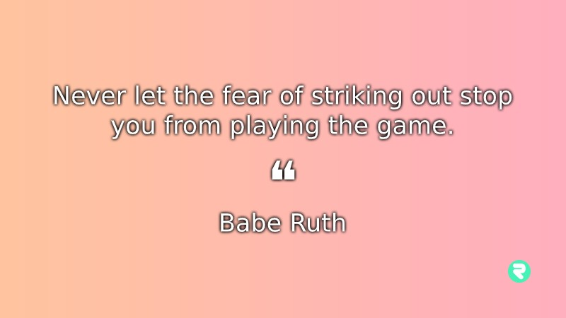 Inspirational Quotes For Students Babe Ruth Inspirational Quotes For Teens Babe Ruth