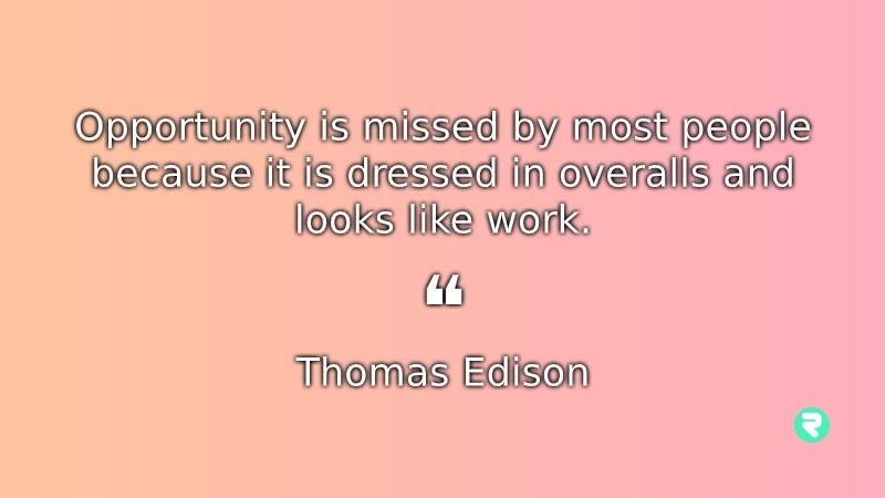 Motivational Quotes For Work Thomas Edison Inspirational Quotes For Work Thomas Edison