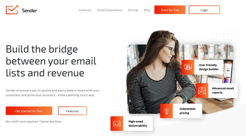 Sender Best Email Marketing Services
