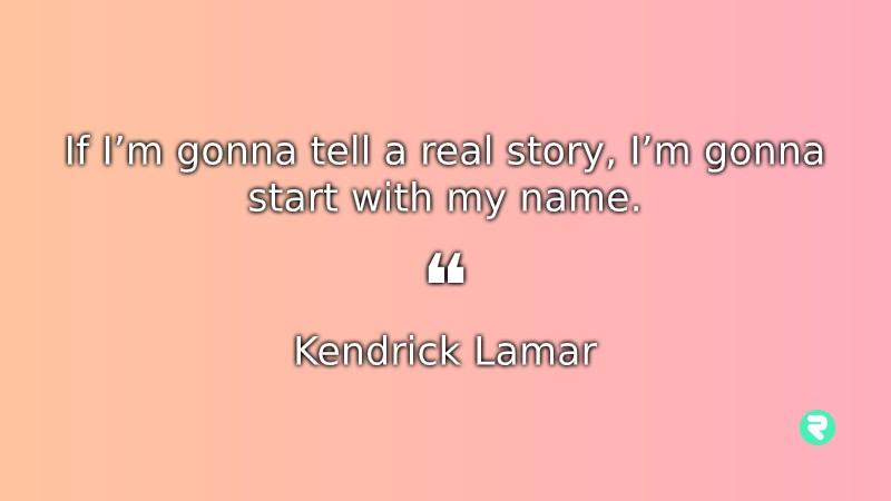 Short Inspirational Quotes Short Positive Quotes Kendrick Lamar