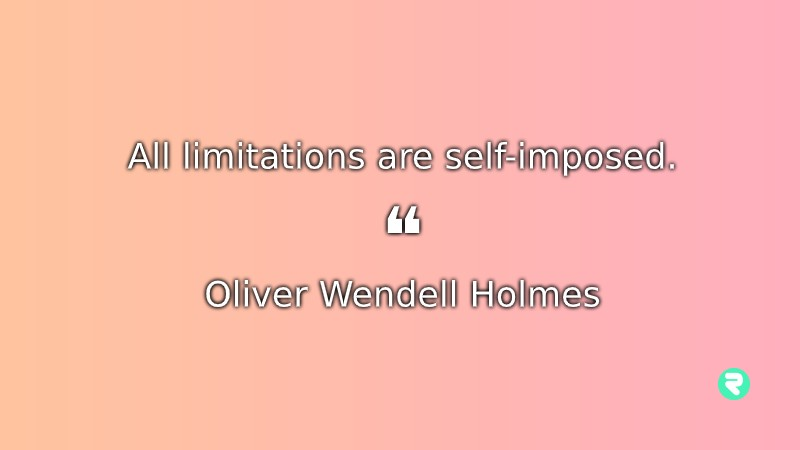Short Inspirational Quotes Short Positive Quotes Oliver Wendell Holmes