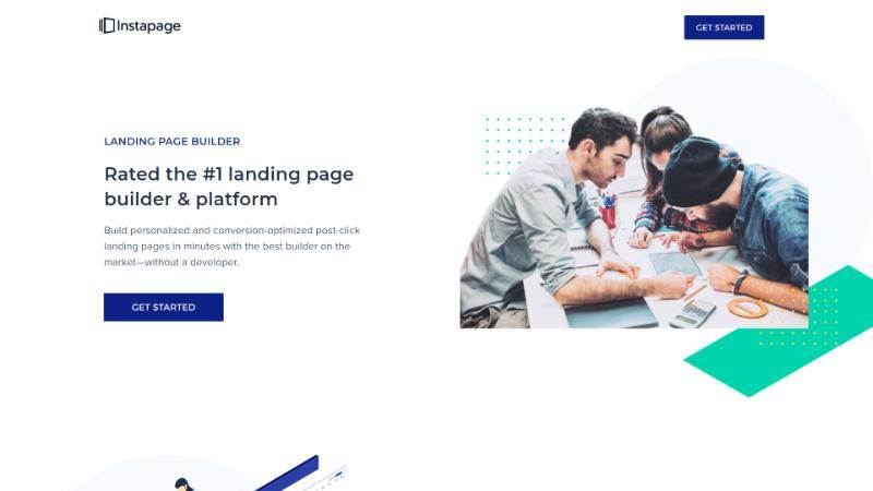 best landing page design instapage