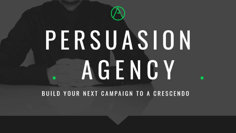 persuasion landing page template