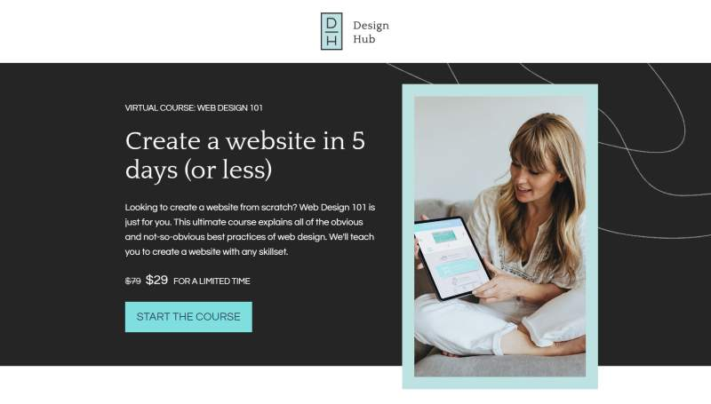 smart course leadpages landing page template