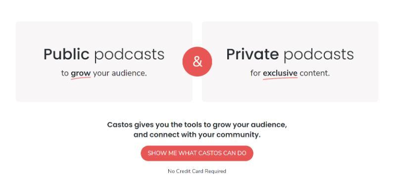 best podcast hosting castos